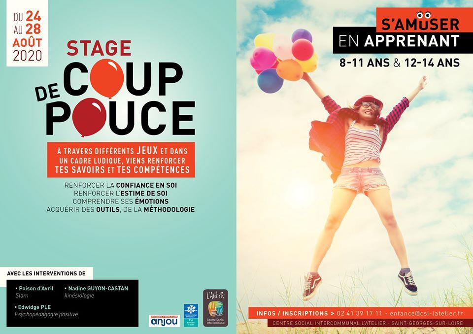 Stage Coup de Pouce | CS L'Atelier