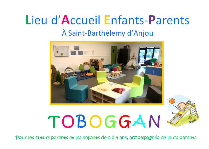 LAEP Toboggan – St Barthélémy d'Anjou : réouverture !